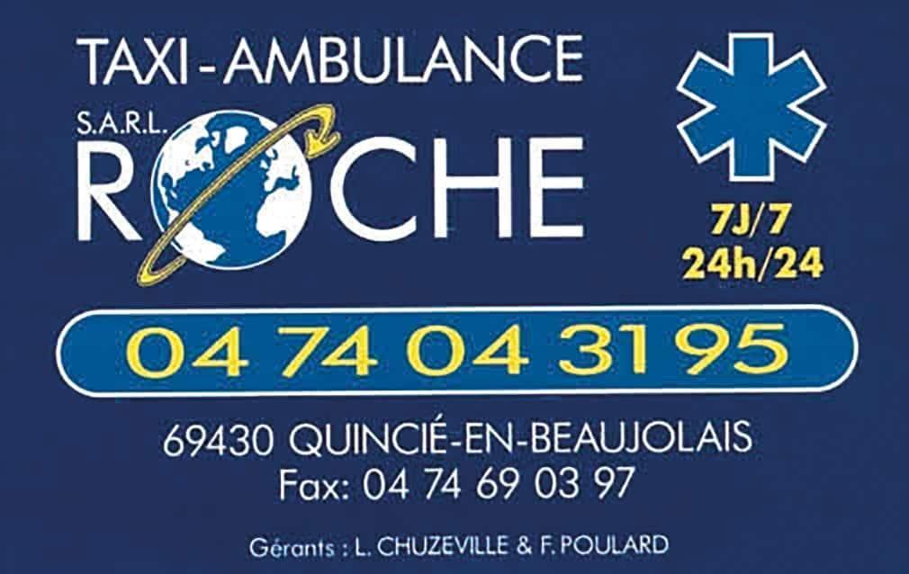 Taxi Ambulance Roche